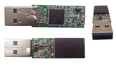 ส่วนประกอบภายในของ Flash Drive