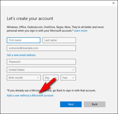 วิธีสร้าง User บน Windows 10